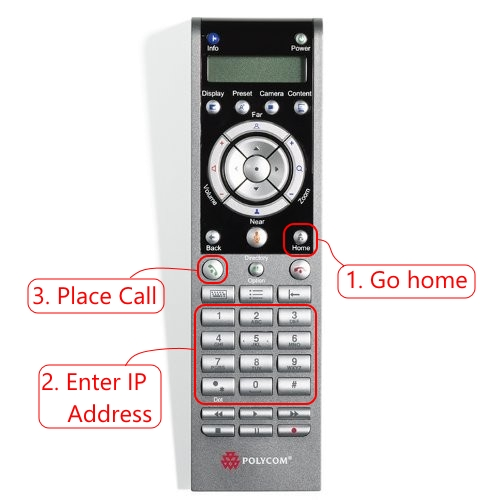 Connecting to Polycom Remote