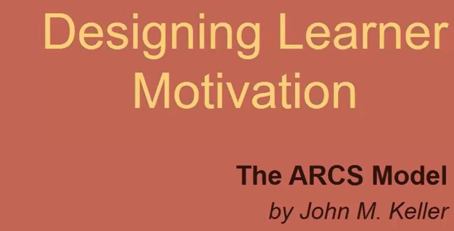 Designing Learner Motivation