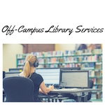 How do I use library resources from off-campus?